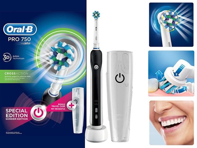 Spazzolino Elettrico Oral B Pro 750 3D