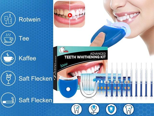 Kit Sbiancamento Denti Laser