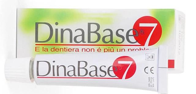 Adesivo per dentiere Dinabase 7