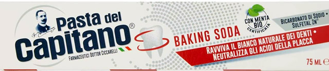 Pasta del Capitano Baking Soda