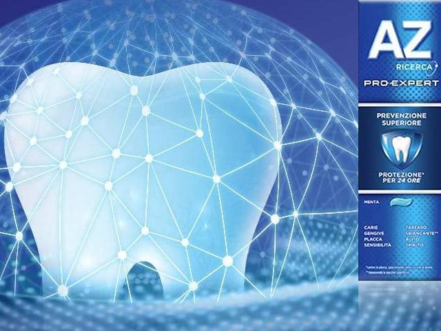 AZ Ricerca Dentifricio Pro-Expert Prevenzione Superiore